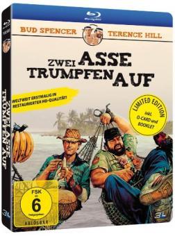 Zwei Asse trumpfen auf (Limited Edition im Schuber) (1981) [Blu-ray]