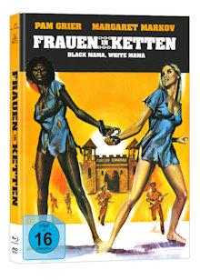 Frauen in Ketten (Black Mama, White Mama) (Limited Mediabook, Blu-ray+DVD, Cover B) (1973) [Blu-ray]