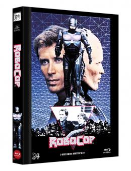 Robocop - Directors Cut (Limited Mediabook, Blu-ray+DVD, Cover C) (1987) [FSK 18] [Blu-ray]