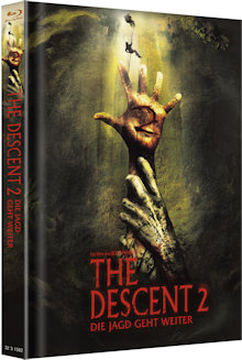 The Descent 2 - Die Jagd geht weiter (Limited Mediabook, Cover B) (2009) [FSK 18] [Blu-ray]