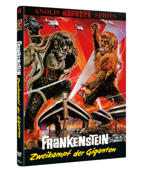 Frankenstein - Zweikampf der Giganten (Kleine Hartbox, Cover B) (1966)