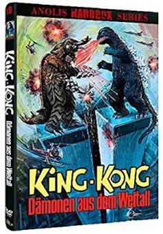King Kong - Dämonen aus dem Weltall (Kleine Hartbox, Cover B) (1973)