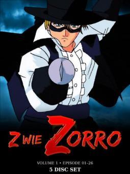Z wie Zorro - Vol. 1, Episode 1-26 (5 DVDs)
