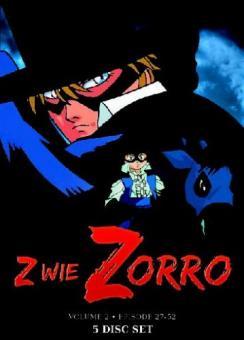 Z wie Zorro - Vol. 2, Episoden 27-52 (5 DVDs)