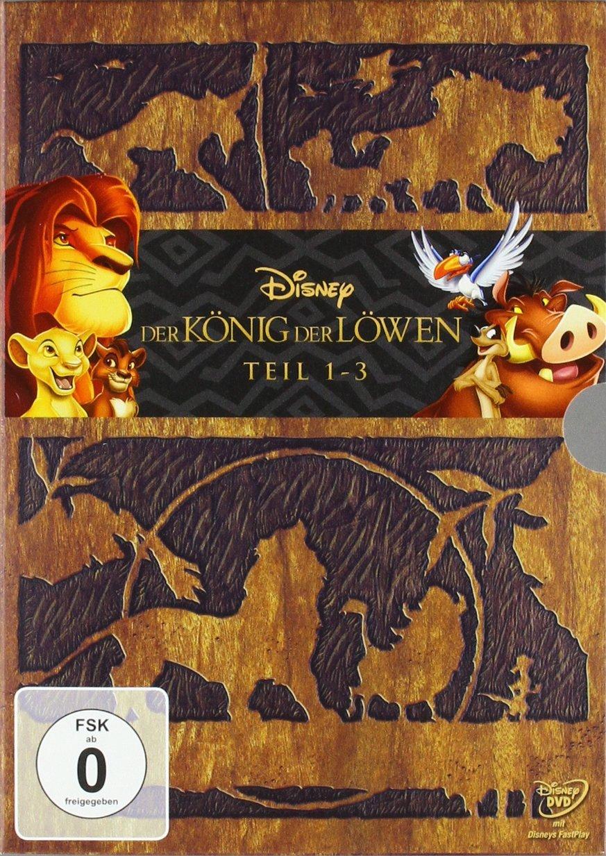 König Der Löwen Dvd 1-3