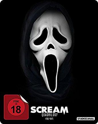 Ihr Uncut Dvd Shop Scream Quadrilogy 4 Discs Steelbook Blu