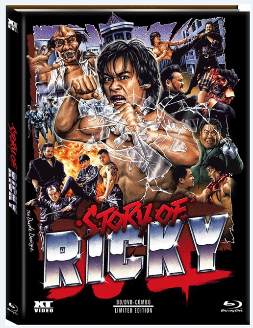 Story Of Ricky Limited Mediabook Blu Ray DVD Cover A